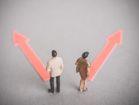 1時間当たり1組が離婚をされています